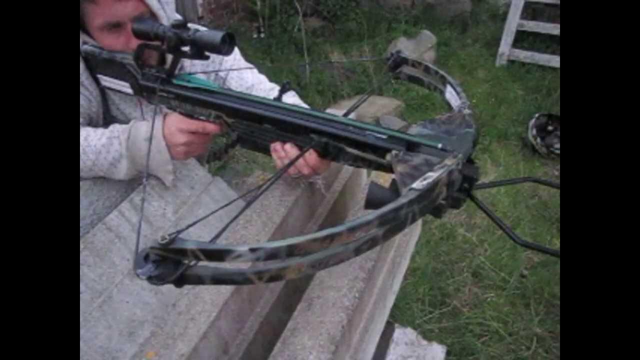 Youtube Shooting Crossbow
