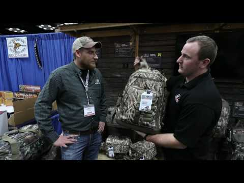 Mossy Oak Live At ATA 2017 - Mossy Oak Hunting Accessories - Waterfowl Packs And Bags