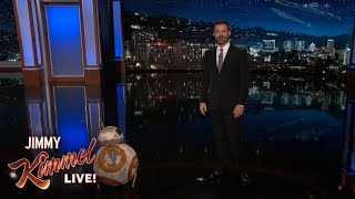 Jimmy Kimmel Catches Up with BB-8