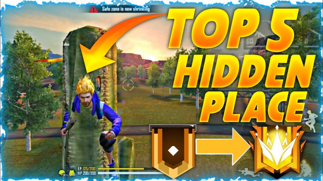 Top 5 Secret Places in Kalahari Free Fire 2020|| Faster Gamer