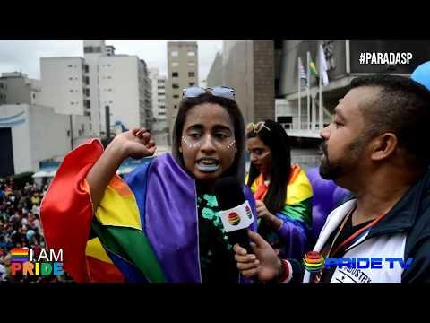 22ª Parada do Orgulho LGBTQI + de São Paulo-2018
