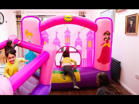 Thumbnail: Magic Princess Bouncy Castle- Fun Activities for Kids!
