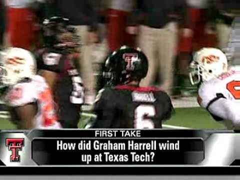 Sam Harrell on Graham Harrell QB Texas Tech
