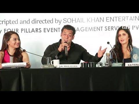 Salman Khan Speaking FUNNY Marathi At Dabangg Tour Pune