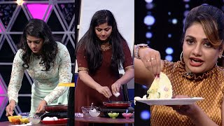 #OnnumOnnumMoonnu Season 3 | Fun task for aparna and chandini l Mazhavil Manorama