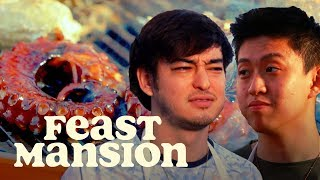 Joji and Rich Brian Grill Exotic Meats for a House Party | Feast Mansion