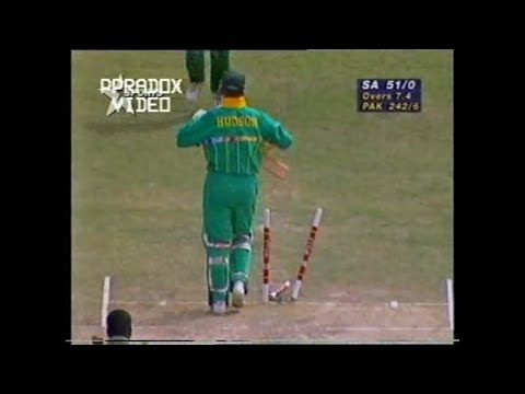 Waqar Younis All Wickets in 1996 World Cup