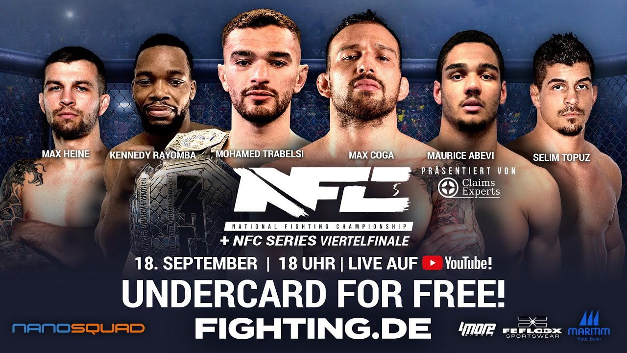 Download FOR FREE: NFC 5 UNDERCARD | 18.9. - FIGHTING