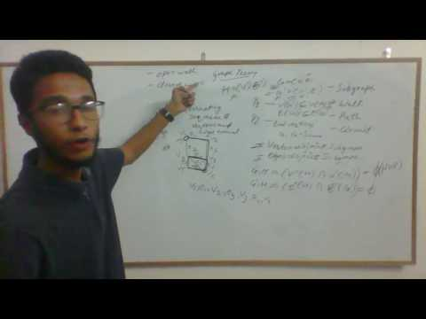 subgraph, walk, path, circuit in graph theory(lecture 3)