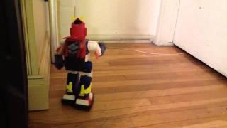 custom Voltes V Animatronic voltes v walking robot Voltes V customized silverlit build-a-bot