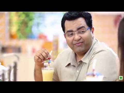 "Mango Milkshake(Kellogg's Waale Guptaji Ki Family ka ""Daddy's Experiment Wala Nashta"")"