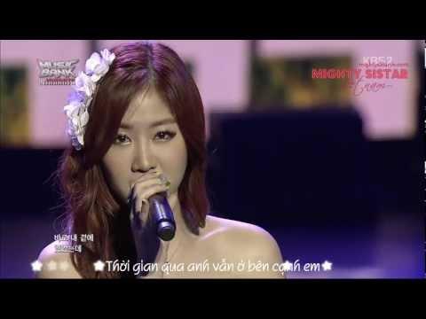 [Vietsub][MSVN] I Think I - Soyu (OST Full House)(2013 Music Bank in Jakarta)