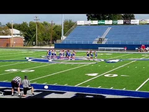 October 21, 2017 SLC 5th Grade Cheer Half-Time Dance SLC Blue vs Metro Christian