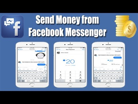 Facebook Messenger now allows you to send Money to your Friends. - YouTube