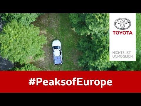 Zu Den #PeaksofEurope Mit @lebackpacker Und Toyota