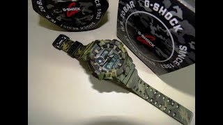 G Shock GA-700CM  unboxing by TheDoktor210884