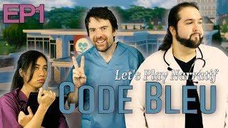 (Let's play Narratif) - CODE BLEU - Episode 1 - Je panse donc je suis