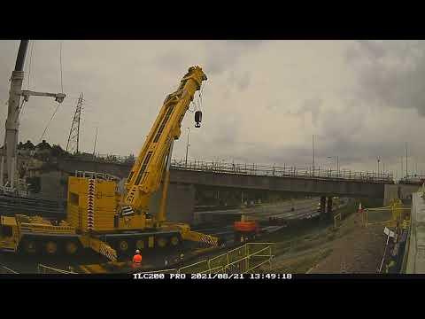 A2 Bean bridge gets constructed