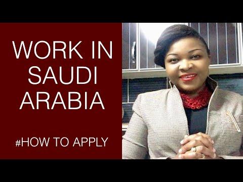 HOW TO GET A JOB IN SAUDI ARABIA/ChifraneJournal
