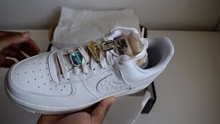 The Nike Air Force 1 LX Bling unboxing