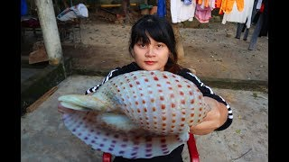 Cooking skills | Yummy cooking monster sea snail recipe | survival skill