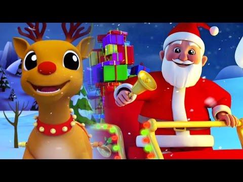 Jingle Bells | Chanson de Noël pour les enfants | Christmas Song For Kids in 3D | Kids Song