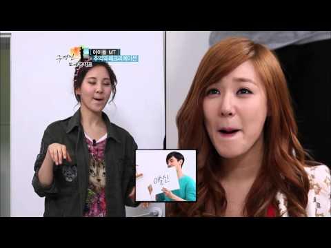 【TVPP】Tiffany(SNSD) - Speed Quiz With Seohyun, 티파니(소녀시대) -  서현과 스피드퀴즈 @ Joo Byung Jin Talk Concert