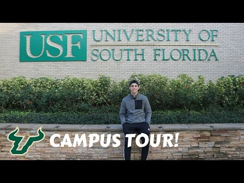USF CAMPUS TOUR!