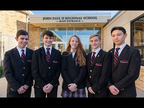 We at the St. John Paul II Regional School miss our students so very much!