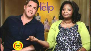 The Help: Emma Stone, Octavia Spencer & Tate Taylor
