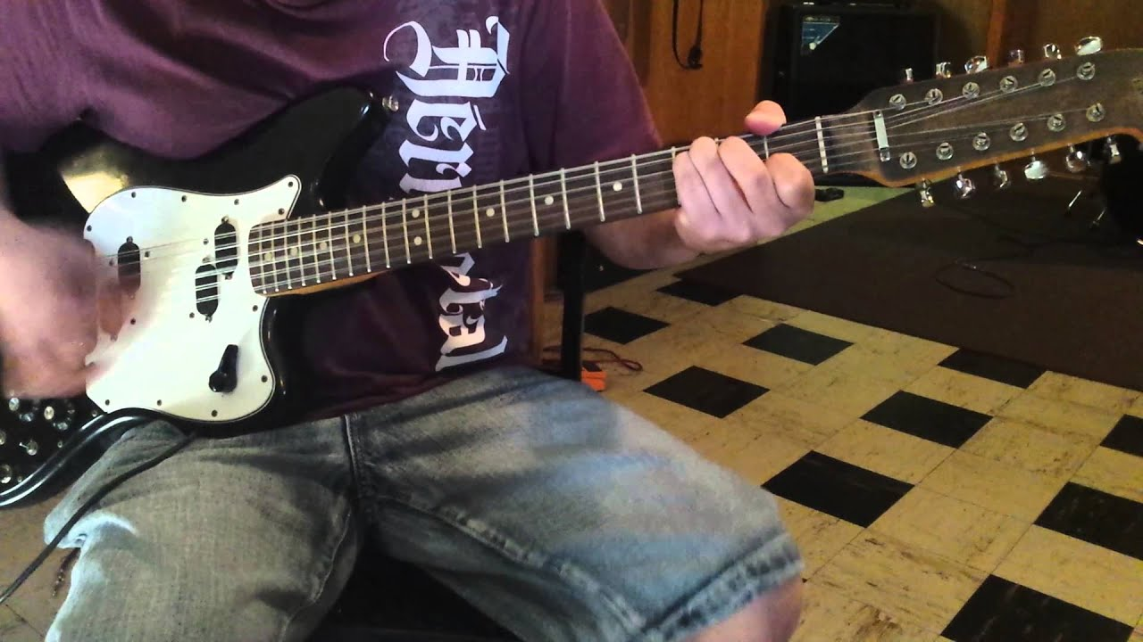 SOLD On EbayVintage Fender XII 12 String Electric Guitar