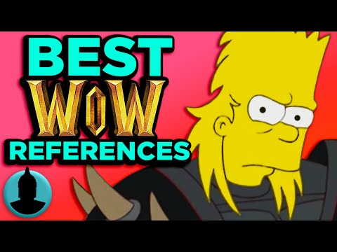 7 Best World of Warcraft Cartoon References! - (Tooned Up S2 E40)