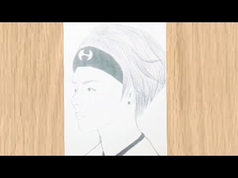 ARMYS WHERE ARE Y OÙ! /how to draw   V (bts)
