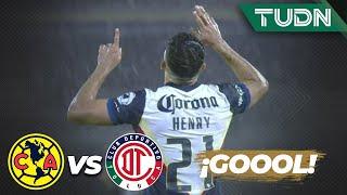 ¡Gool! ¡América anota el primer gol de la Copa! | América 1 - 0 Toluca | Copa por México | TUDN