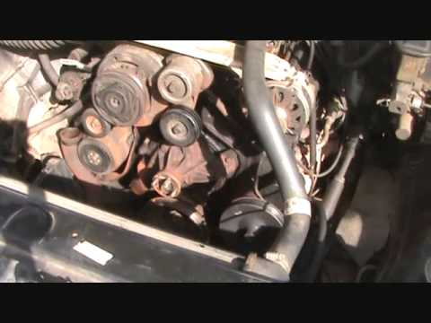1983 Jeep Alternator Wiring 1988 Chevy Pickup Water Pump Replacement Youtube