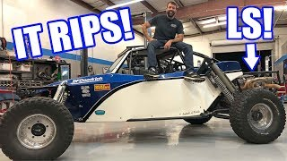 LSX Sandrail Rips it Up On and OFF-road! WAY Too Much Fun! thumbnail
