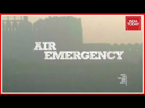Air Emergency : Pollution Level In Delhi Reaches 20 Times Above Normal