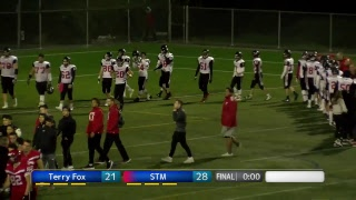 2018 BC High School Football: St. Thomas More vs Terry Fox