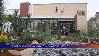 Yvelines | Les enjeux des municipales à Saint-Cyr-L'École