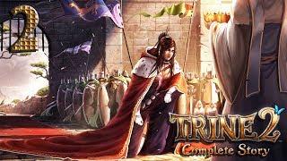 Trine 2: Complete story прохождение на геймпаде часть 2 Бьём гоблинов и сражаем дракона