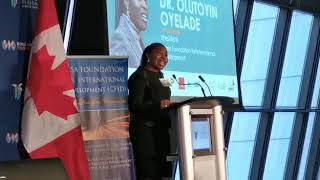 Women Inspire 2020- Welcome Address by Dr. Olutoyin Oyelade
