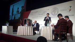 8th Contest of the Best Sommelier of Japan 【final / 1st place】 WATARU IWATA