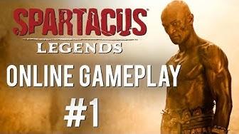 Spartacus Legends - Online Gameplay #1 (PS3)