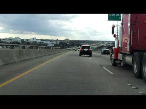 Westbank Expressway (Interstate 910/US 90 BUSINESS Exits 9 to 4) westbound [ALTERNATE TAKE]