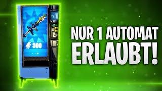 NUR 1 AUTOMAT ERLAUBT! 🎡 | Fortnite: Battle Royale