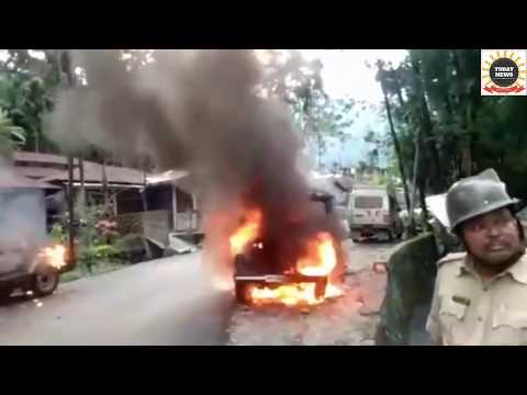 Darjeeling Today 4 GJMM Supporter Dead And RIP