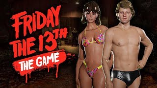 КУПАЛЬНИКИ ВОЖАТЫХ! НОВОЕ DLC В ПЯТНИЦЕ 13! - Friday the 13th: The Game