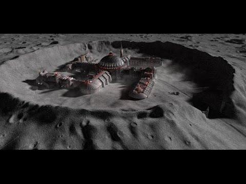 Hans Kammler on the moon surface March 1945 - Haunebu and Vril
