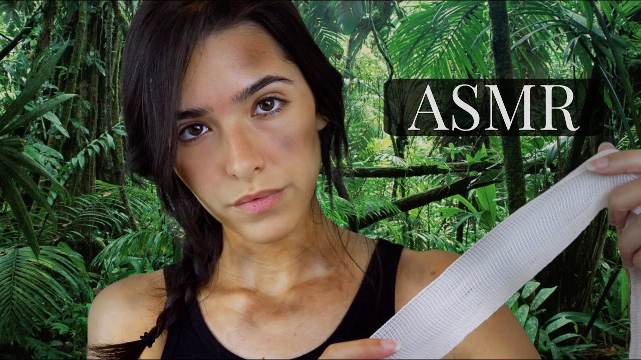 ASMR Lara Croft Takes Care Of You (Personal Attention + Outdoors sounds)