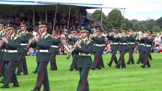 Japanese Central Band Perth Salute Event North Inch Park Perth Perthshire Scotland